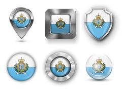 Stock Illustration of San Marino