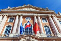 City Hall of Toulouse, France Stock Photos