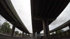 4K motorway driving car Stock Footage