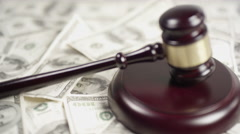 Stock Video Footage of Legal Battles in the American Justice System - Money buys freedom