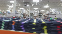 Video of a Costco wholesale warehouse Stock Footage