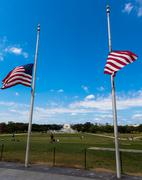 the Washington monument - stock photo