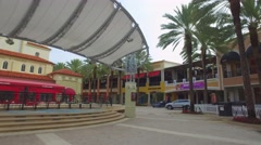 Cityplace West Palm Beach Stock Footage