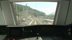 Train Rail Road - stock footage