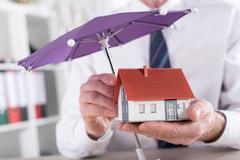 Insurance concept - stock photo