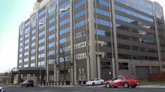 FCC headquarters building, Washington, DC Stock Footage