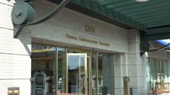 FCC headquarters Washington, DC Stock Footage