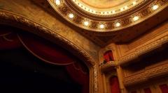 Teatro Municipal in Rio de Janeiro, Brazil Stock Footage