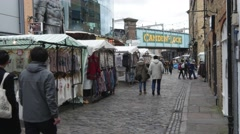 Camden Town in London Stock Footage