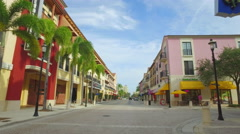 Video of Cityplace West Palm Beach FL USA Stock Footage