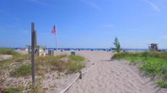 Sands of Riviera Beach FL Stock Footage