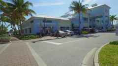 Riviera Beach Ocean Mall Stock Footage