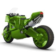 Concept bike sport Stock Illustration