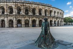 Roman Arena in Arles, France Kuvituskuvat