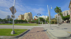 Waterfront Commons West Palm Beach Stock Footage