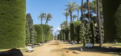 Genoves Park, Andalusia, Spain - stock photo