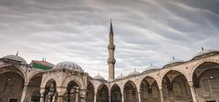 Blue Mosque Sultan Ahmet Cami Stock Photos
