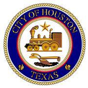 Houston City Seal Stock Illustration