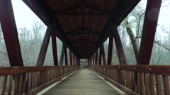 Bridge Forward & Backward Roswell Stock Footage