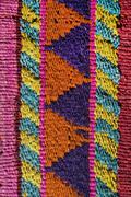 Aguayo andean  loom Stock Photos