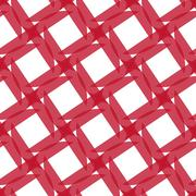 Seamless Colorful Abstract Pattern from Repetitive Shapes on White Background Stock Illustration