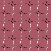 Seamless colorful abstract pattern created from repetitive shapes on colorful - stock illustration