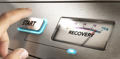 Crisis Recovery Concept Stock Photos