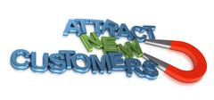 Stock Illustration of Attract New Customers, Business Development