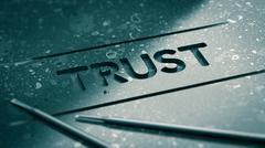 Trust Concept Stock Illustration