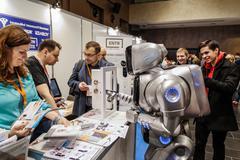 KYIV, UKRAINE - FEBRUARY 24, 2016: Innovation and tehnologies - stock photo