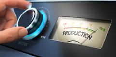 Productivity Improvement Concept - stock illustration