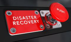 Disaster Recovery Plan, DRP - stock illustration