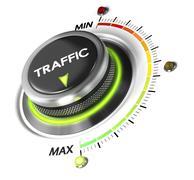 Generate More Web Traffic - stock illustration