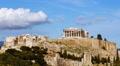 HD 25p Acropolis rock wide view timelapse locked down Footage