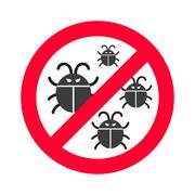 Virus bugs vector illustration Stock Illustration
