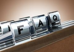FAQ - stock illustration