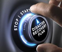 Stock Illustration of Disaster Recovery Plan - DRP