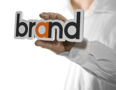 Company brand name - stock illustration