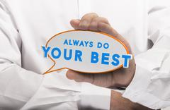 Business or Personal Motivation - stock illustration