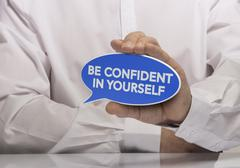Self Confidence - stock illustration