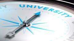 University Choice Stock Illustration