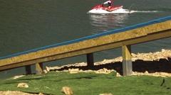 Stock Video Footage of Sport water slider