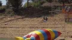 Blobbing blob jump - stock footage