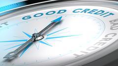 Credit Advice Stock Illustration