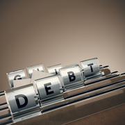 Debt Management Stock Illustration
