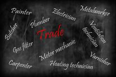 """The trade - keyword collection on """"crafts, trade"""" - stock photo"""