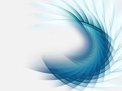 wavy abstract background - stock illustration
