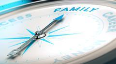 Family Versus Career Stock Illustration