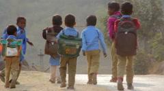 Indian children. Delhi. India. 2015 Stock Footage