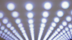 Diode disco lights Stock Footage